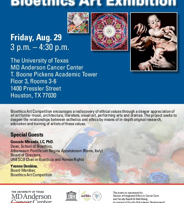 Bioethics Art Exhibition at the University of Texas