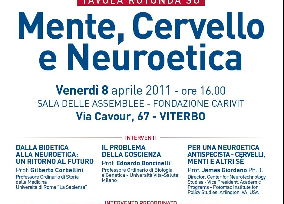 Mind, Brain and Neuroethics