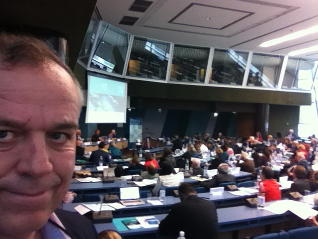 Chair Director participates in Council of Europe congress on emerging technologies