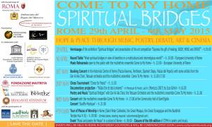 Locandina Spiritual Bridges-eng
