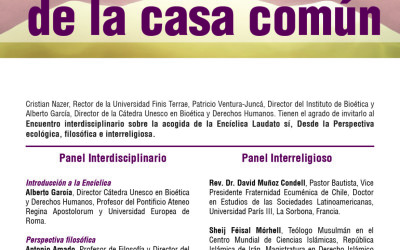 UNESCO Chair signs accord with the Universidad Finis Terrae in Chile