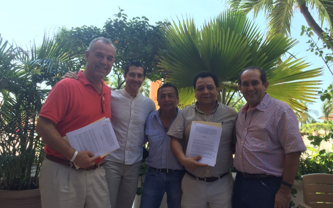 UNESCO Chair signs accord with the Universidad Autónoma de Guerrero