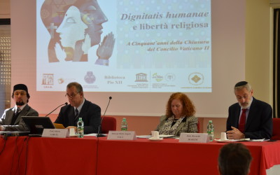 Religious liberty conference with interreligious round-table discussion