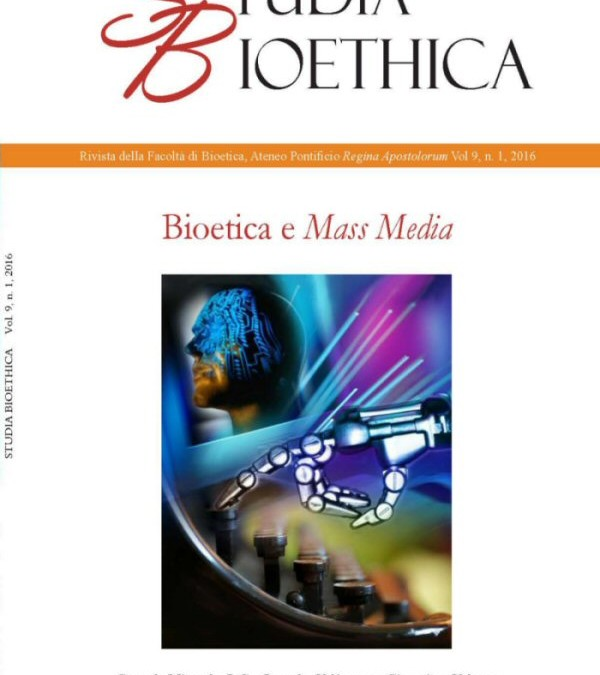 "Studia Bioethica journal devoted to ""Bioethics and Mass Media"""