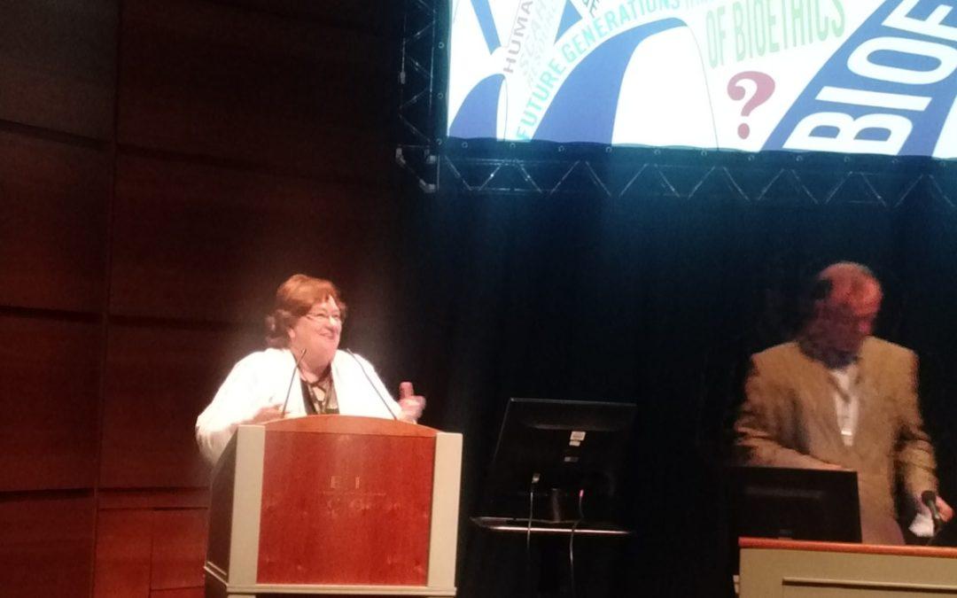 Chair members speak at International Association of Bioethics World Congress of Bioethics in Edinburgh