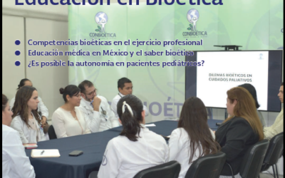Chair Director interviewed in magazine of Mexico's National Commission of Bioethics