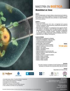 Plantilla Flyer Posgrado