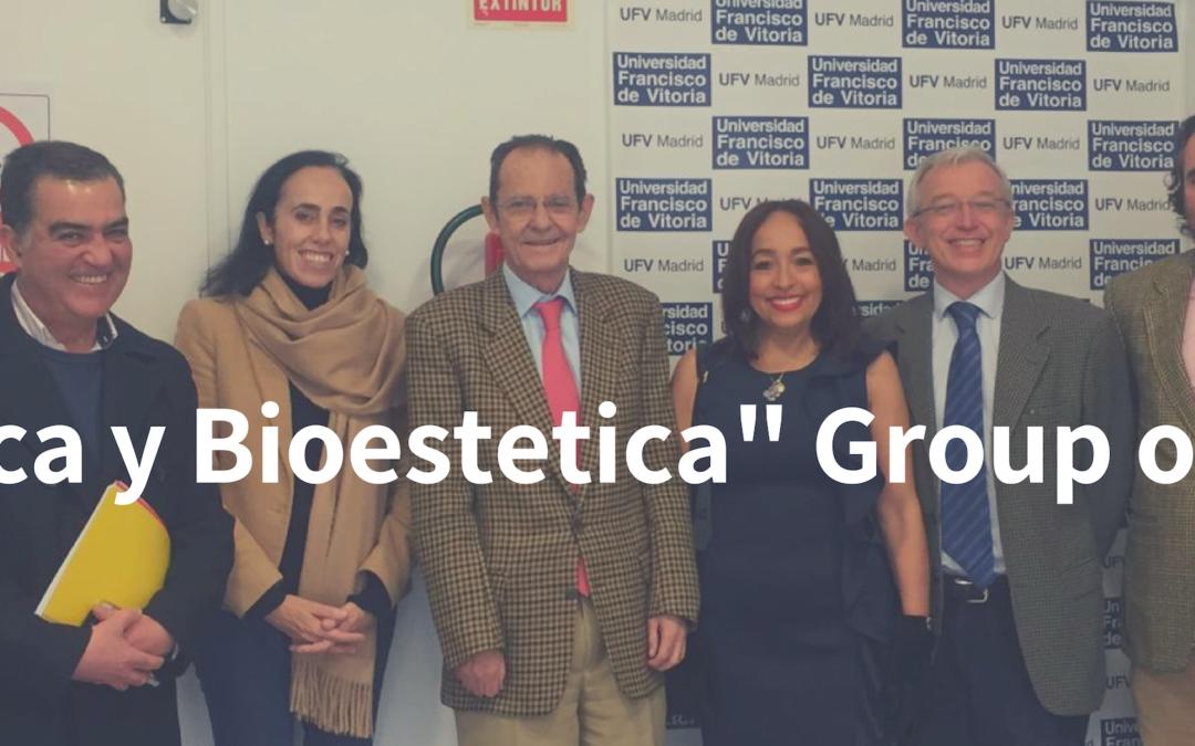 "Meeting of the ""BIOETICA Y BIOESTETICA"" Group of Study"