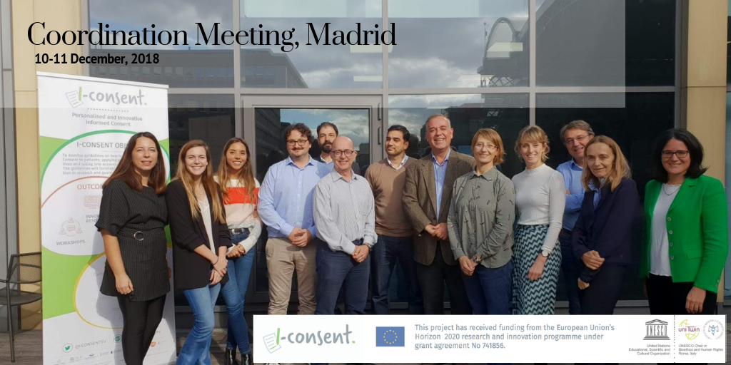 iCONSENT 4TH Coordination Meeting in Madrid