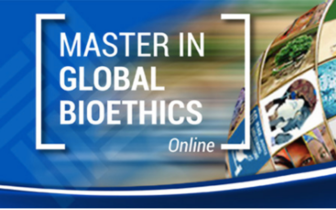 Master in Global Bioethics Online
