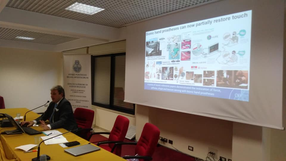 Lecturer: Prof. Stefano Mazzoleni from The BioRobotics Institute of Sant'Anna School of Advanced Studies, Pisa