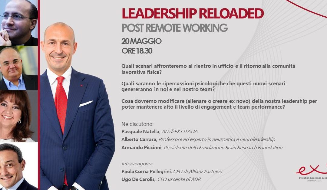 Webinar: Leadership Reloaded – Post Remote Working